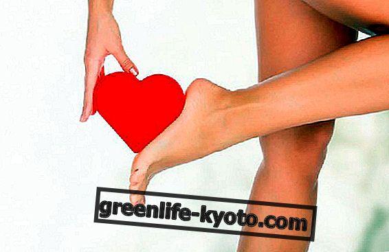 Reflexní zóny chodidla: srdce