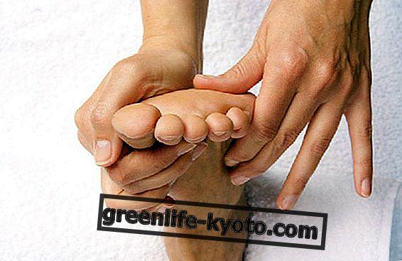 De reflexzones van de voet: de lever