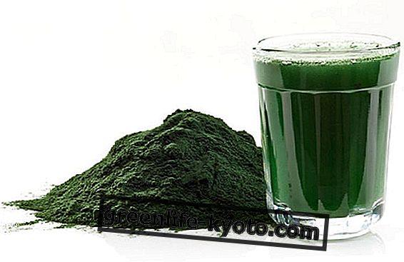 Spirulina para la salud de la piel y el cabello.