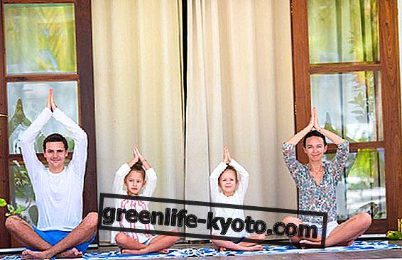 5 jogas pozīcijas bērniem