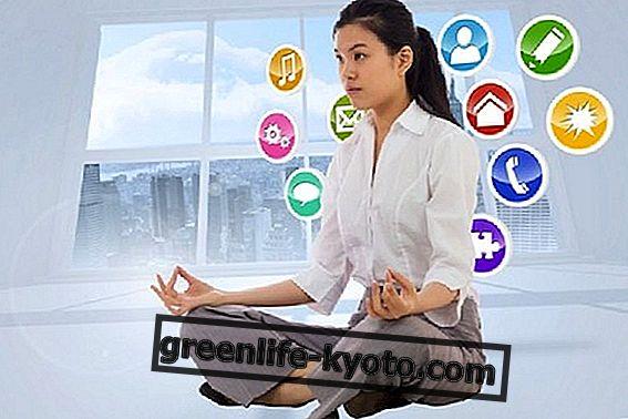 Bir uygulama ile meditasyon dersleri