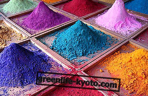 Natuurlijke kleuren voor stoffen