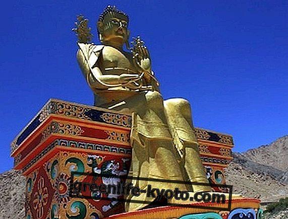 Iekšpusē labvēlīgi Tibetas simboli