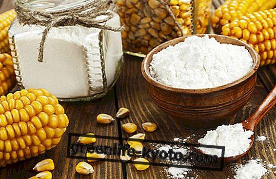 Almidón de maíz para calmar la piel.