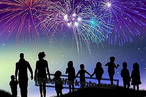 Nápady pro nový rok s dětmi