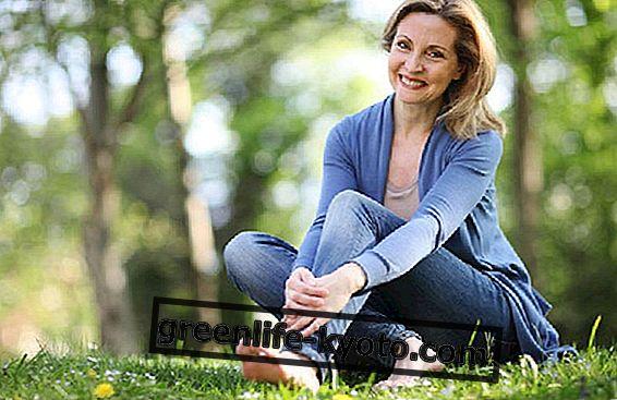 Zaobchádzanie s menopauzou s jogou