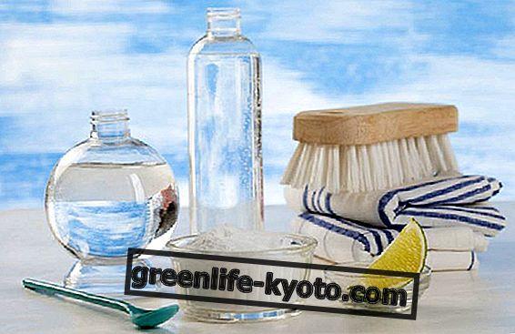 DIY természetes termékek üveg és felületek számára