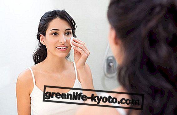 Гланцирана кожа на лицето, средства за защита