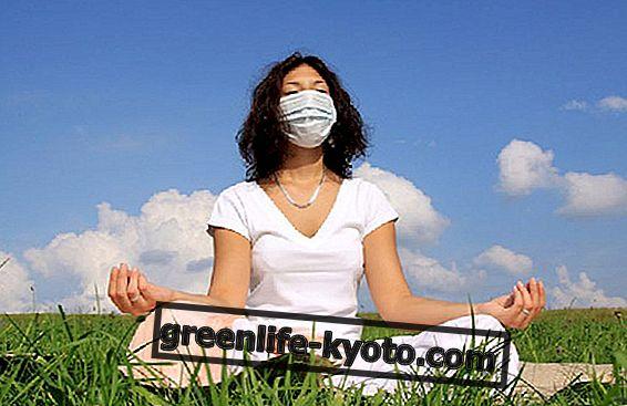 季節性アレルギーのためのヨガのヒント