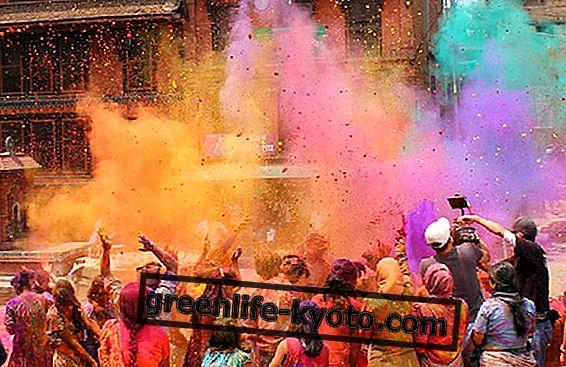 Holi, spalvų festivalis