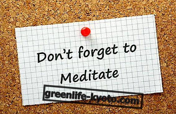 Meditation, et hukommelseshjælpemiddel