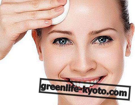 Cosmética natural para la limpieza facial.
