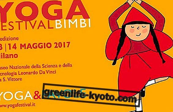 13 en 14 mei is het Yogafestival voor kinderen